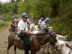 Promenades à cheval au Costa Rica