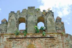 ruinas de la iglesia de Nuestra Señora de la Limpia Concepción
